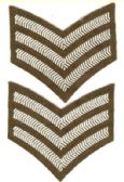 SERGEANT STRIPES ( PAIR)